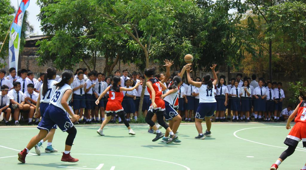 Basket Putri SMP Tarsisius Vireta