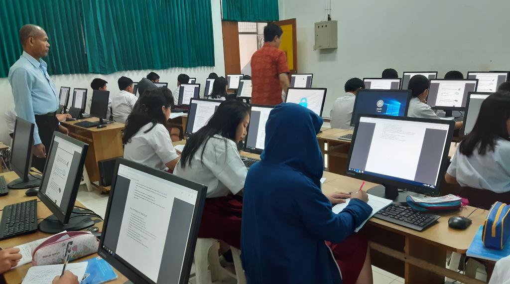 Lab Komputer TK SD Tarsisius Vireta